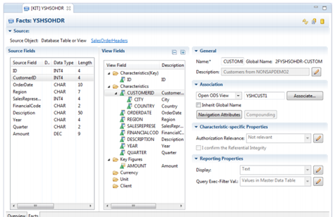 BW 7.4 on HANA - Open View DSO